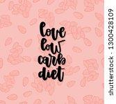 keto diet hand drawn vector... | Shutterstock .eps vector #1300428109