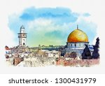 Al Aqsa Mosque And Dome Of The...