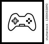 vector control pad icon  | Shutterstock .eps vector #1300433890