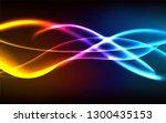 vector glowing blurred neon... | Shutterstock .eps vector #1300435153