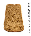 slice of bread isolated on... | Shutterstock . vector #1300451296