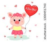 congratulations on valentine s... | Shutterstock .eps vector #1300451743