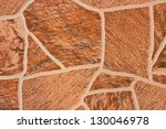 Brown Patterned Tiles.  With A...