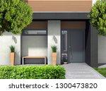 fictitious 3d rendering of a...   Shutterstock . vector #1300473820