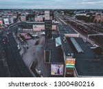 riga   june  20  aerial view of ... | Shutterstock . vector #1300480216