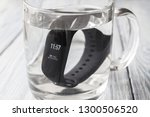 black fitness watch  activity... | Shutterstock . vector #1300506520