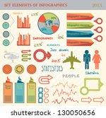 info graphic set | Shutterstock .eps vector #130050656