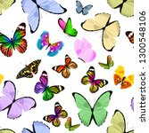 seamless pattern of colored... | Shutterstock . vector #1300548106