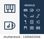 sound icon set and amplifier...