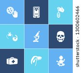 healthcare icon set and... | Shutterstock .eps vector #1300602466