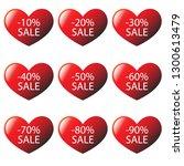 vector image. i like shopping ... | Shutterstock .eps vector #1300613479