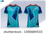 t shirt sport design template ...   Shutterstock .eps vector #1300684510