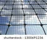 two safety nets with different... | Shutterstock . vector #1300691236