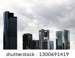 cityscape fragment with high... | Shutterstock . vector #1300691419