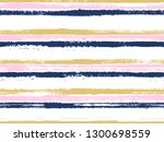 hand drawn striped seamless... | Shutterstock .eps vector #1300698559