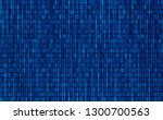 binary digital code. computer... | Shutterstock .eps vector #1300700563