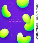 dynamic shapes composition....   Shutterstock .eps vector #1300714000