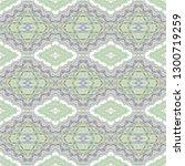 seamless  woven green  violet... | Shutterstock .eps vector #1300719259
