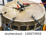 Indian Drum And Drum Sticks...
