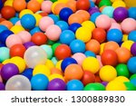 balls for swimming pool | Shutterstock . vector #1300889830