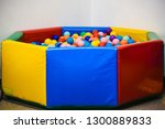 balls for swimming pool | Shutterstock . vector #1300889833