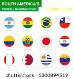 south america's football... | Shutterstock .eps vector #1300894519
