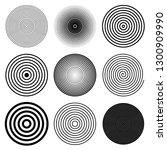 circle round spiral target... | Shutterstock .eps vector #1300909990