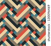 abstract textured geometric... | Shutterstock . vector #130096469
