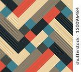 abstract textured geometric...   Shutterstock . vector #130096484