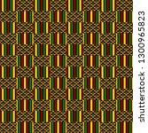 Kente Cloth Seamless Pattern  ...