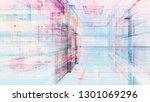 abstract background. digital... | Shutterstock . vector #1301069296