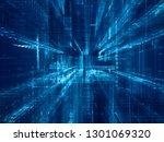 abstract background. digital... | Shutterstock . vector #1301069320