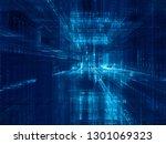 abstract background. digital... | Shutterstock . vector #1301069323