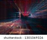 abstract background. digital... | Shutterstock . vector #1301069326