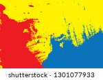 primary colors background  blue ... | Shutterstock .eps vector #1301077933