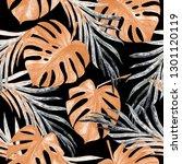 watercolor seamless pattern... | Shutterstock . vector #1301120119