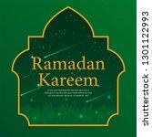 ramadan kareem islamic... | Shutterstock .eps vector #1301122993
