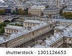 paris  france   october 2  2018.... | Shutterstock . vector #1301126653