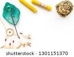 meditation and eastern... | Shutterstock . vector #1301151370