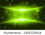 green abstract background | Shutterstock . vector #1301223016