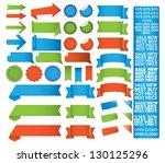 tape label set   Shutterstock .eps vector #130125296
