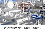 the area of the equipment to... | Shutterstock . vector #1301253040