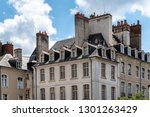 old buildings in rennes the... | Shutterstock . vector #1301263429