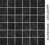 high quality black mosaic... | Shutterstock . vector #130126499