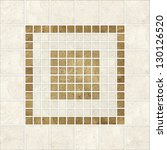 high quality mosaic pattern... | Shutterstock . vector #130126520