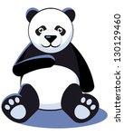 panda | Shutterstock .eps vector #130129460