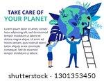 vector flat illustration in...   Shutterstock .eps vector #1301353450