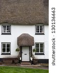 Cottage With Thatch Roof