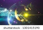 background design abstract... | Shutterstock . vector #1301415190