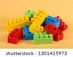children's designer on a... | Shutterstock . vector #1301415973